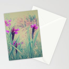 Iris Field in Pastell Dream Colors Stationery Cards