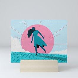 Edge of the World Mini Art Print