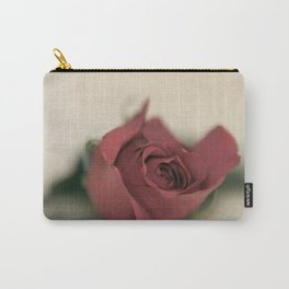 Single Rose fine art photography Carry-All Pouch