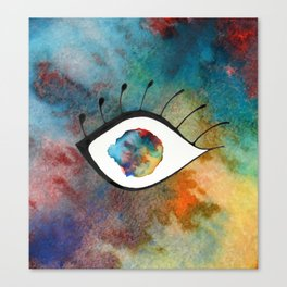 Lost in your eyes Canvas Print