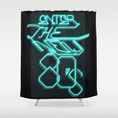 Enter the new 80s Shower Curtain