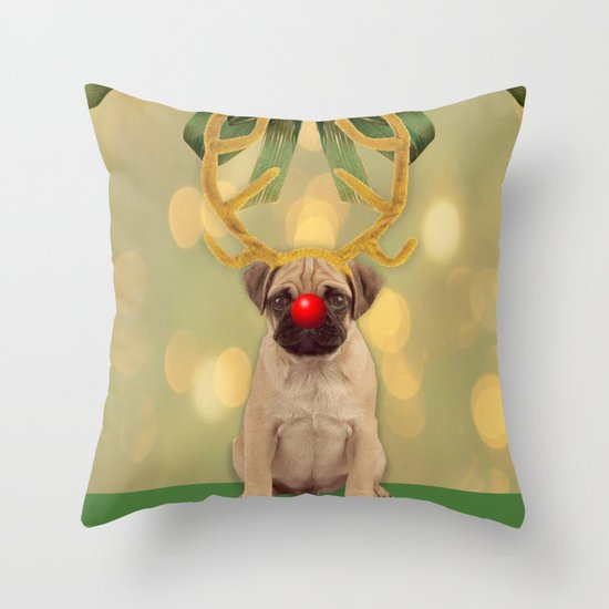 Rudo Throw Pillow