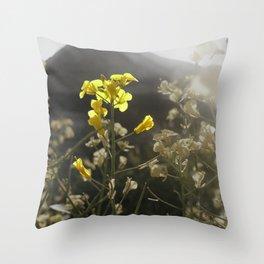 Summer Yield Throw Pillow
