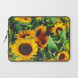 Sunfowers by Lika Ramati Laptop Sleeve