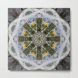 Fountain Mandala (#083c) Metal Print