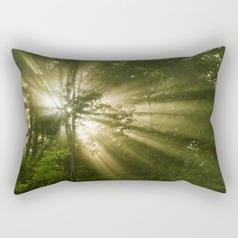 Sunrise Trees Rectangular Pillow