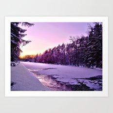 Frozen Voyage Art Print