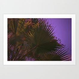 Palm Hands Art Print
