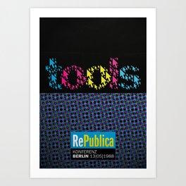re:trospektive 1988: Tools Art Print