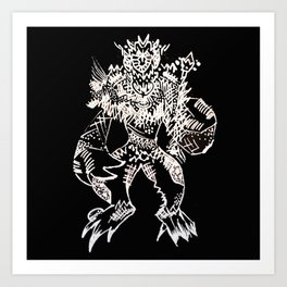 Black Book Series - Mythical Art Print