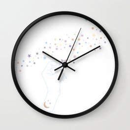 You in Me Wall Clock