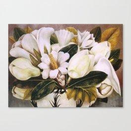 Magnolias Still Life by Frida Kahlo Canvas Print