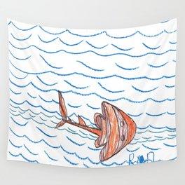 Guitar Fish Wall Tapestry