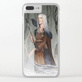 Volva ~ A Compendium of Witches Clear iPhone Case