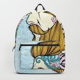 Hipster Man Backpack