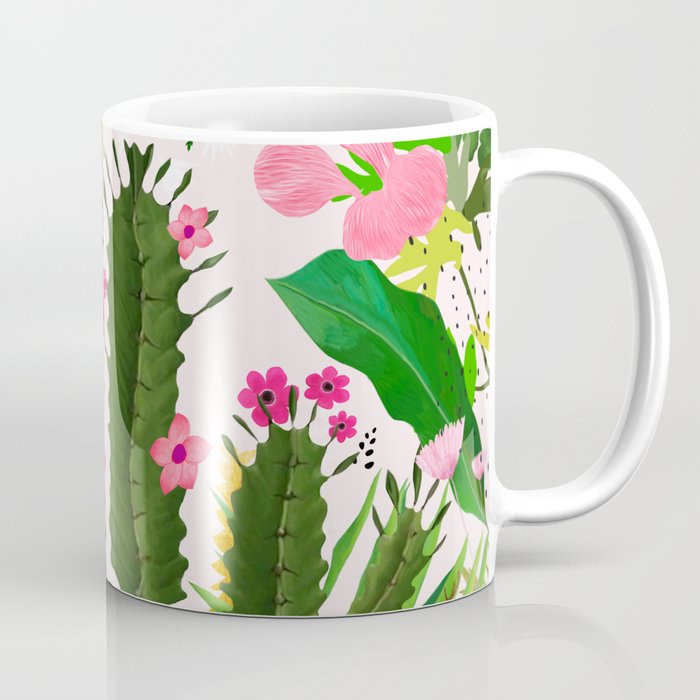 Pink Desert Flowers Coffee Mug By Artandghosts Society6
