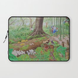 A Day of Forest (4). (the lake ecosystem) Laptop Sleeve