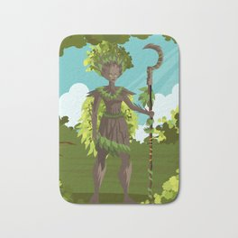 dryad nature tree forest guardian Bath Mat