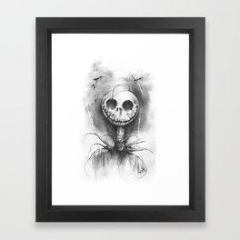 The Spirit of Halloween Framed Art Print