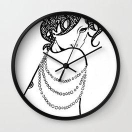 Leila by DAKMPA & MAW Wall Clock