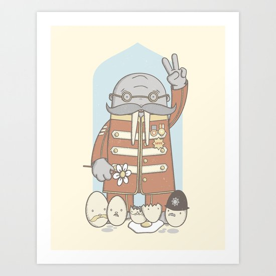 Meet The Walrus Art Print