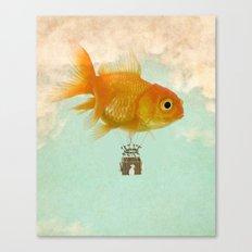 balloon fish 03 Canvas Print