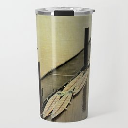 Rowing on the River Travel Mug