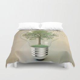 green ideas Duvet Cover