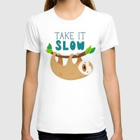 sloth T-shirts featuring Sloth by Claire Lordon