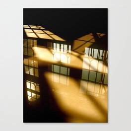 REFLECTIONS IN YELLOW Canvas Print