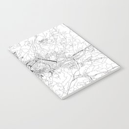 Florence White Map Notebook