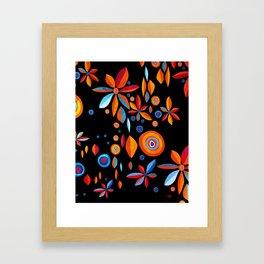 Summer pattern II Framed Art Print