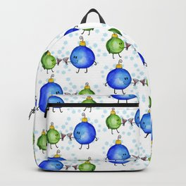 Festive Drinking Ornaments Backpack