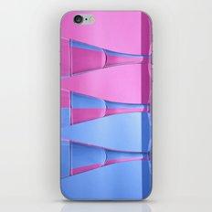 Refracted Wine Glasses  iPhone & iPod Skin