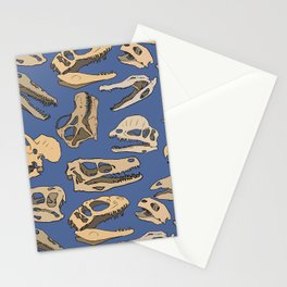 Paleontology Stationery Cards