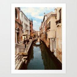Canals of Venice III Art Print