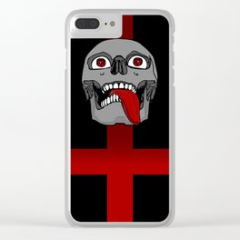 Impale the Falsely Righteous Clear iPhone Case