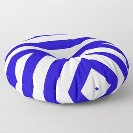 Royal Stripes Floor Pillow