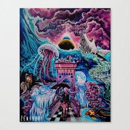 Dreams in digital Canvas Print