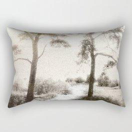 Peace before the Storm Rectangular Pillow