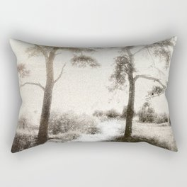 Peace before the Storm Rectangular Pillow