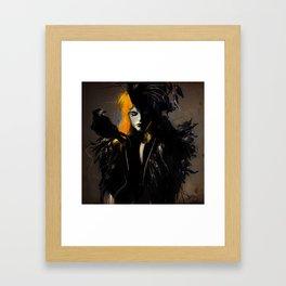 Crow Framed Art Print