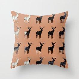 Deer B2 Throw Pillow