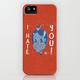 Hater Vintage Kid iPhone Case