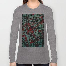 Turquoise Pop Long Sleeve T-shirt