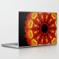 phoenix Laptop & iPad Skins featuring Phoenix by Mr. Pattern Man
