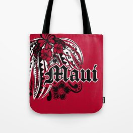 Maui Poly Tribal Distressed Tote Bag