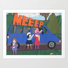 MEEEP Art Print