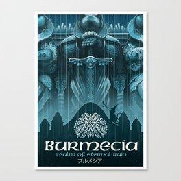 Final Fantasy IX - Burmecia Canvas Print