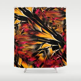 Jungle Trip (sunglow) Shower Curtain